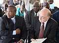 President of CENI Daniel Ngoy Mulunda Nyanga and MONUSCO SRSG Roger Meece (6116563376).jpg