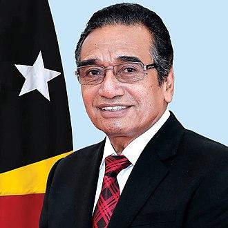 President of East Timor - Image: President of Timor Leste Francisco Guterres