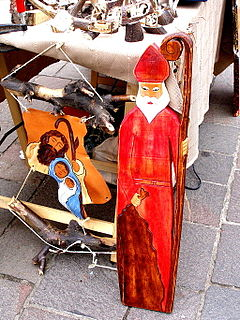 Saint Nicholas Day traditional day in Europa