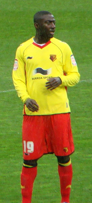 Prince Buaben - Buaben playing for Watford in 2012.