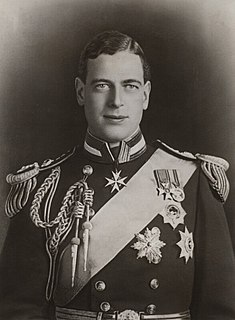 Prince George, Duke of Kent Son of King George V and Queen Mary