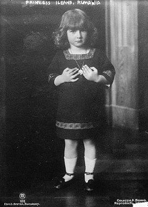 Princess Ileana of Romania, born 1907.