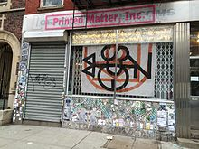 Printed Matter, Inc.'s storefront