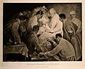 Professor Ernst Bumm operating on a male patient, other doct Wellcome V0006862.jpg