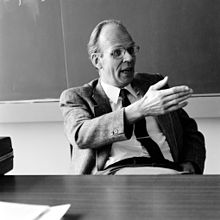 Professor Léon Van Hove, Research Director-General of CERN from 1976 to 1980