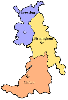 Diocese of Shrewsbury within the Province of Birmingham
