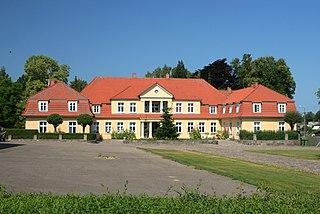 Prusewo Village in Pomeranian Voivodeship, Poland