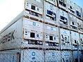 Puerto seco, refrigeración maersk, Coslada, Madrid, España, 2015.jpg