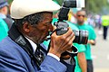 Pulitzer-Prize Winning Photographer John H. White at the Bud Billiken Parade 2015 (20244320329).jpg