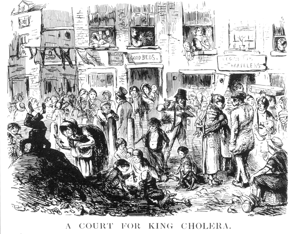Punch-A Court for King Cholera