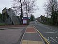 Purfleet station level crossing look northeast.JPG