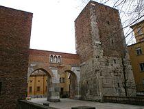 Pusterla di Sant'Ambrogio - Milan - facciata esterna - 02.JPG