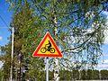 Pyöräilijöitä liikennemerkki 20170607.jpg