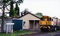 QR loco 1740 at Springsure Station, ~1991.jpg