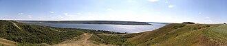 Qu'Appelle River - Qu'Appelle Valley panorama