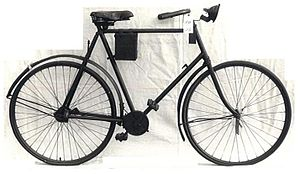 "Shaft-driven bicycle - Antique ""Quadrant"" shaft-driven bicycle"