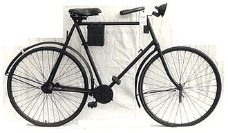 """Shaft-driven bicycle - Antique """"Quadrant"""" shaft-driven bicycle"""