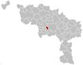 Quaregnon Hainaut Belgium Map.png