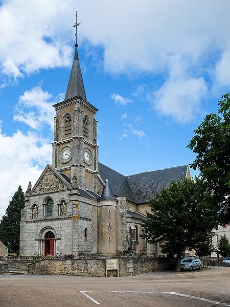 Église Saint-Georges de Quarré-les-Tombes (PA00113796), Département Yonne, Bourgogne-Franche-Comté, France