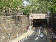 The Queens Midtown Tunnel is the start of the Long Island Expressway.