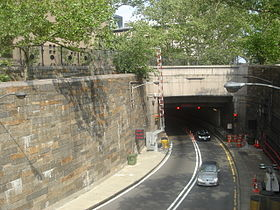 entrée du Queens-Midtown Tunnel