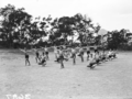 Queensland State Archives 1643 Teachers Training College mens physical education Brisbane April 1951.png