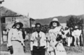 Queensland State Archives 5739 Mrs J C Peterson and resident of Mona Mona June 1931.png