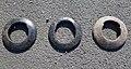 Quoits set - woman, juvenile male and adult male quoits.jpg