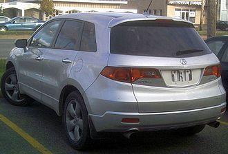 Acura RDX - 2007 Acura RDX