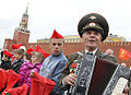 RIAN archive 910728 Young Pioneer induction ceremony held on Moscow's Red Square.jpg