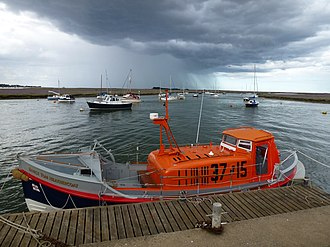 Wells-next-the-Sea Lifeboat Station - Image: RNLB Ernest Tom Nethercoat ON982