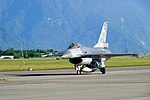 ROCAF F-16A 6674 Taxiing at Hualien Air Force Base 20170923b.jpg