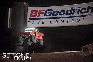 Baja 1000 - RPM Trophy Truck at the 2015 Baja 1000 qualifying
