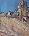 RYLSKY (Ahu) Montmartre 1926 huile sur toile.jpg