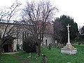Radclive - War Memorial in churchyard - geograph.org.uk - 349852.jpg