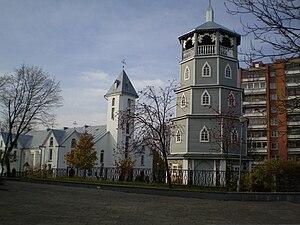 Radviliškis - Image: Radviliškio bažnyčios ansamblis