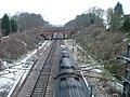 Railway bridge at Woolmer Green. - geograph.org.uk - 97228.jpg