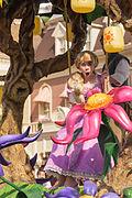 Disney magic on parade wikip dia - Raiponce et son prince ...