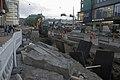 Raitiotiekiskojen muutostöitä Kaivokadulla - G767 - hkm.HKMS000005-km003z00.jpg