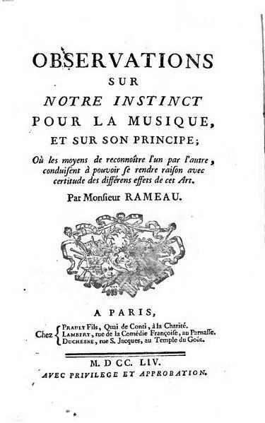 File:Rameau - Observations sur notre instinct pour la musique, et sur son principe, 1754.djvu