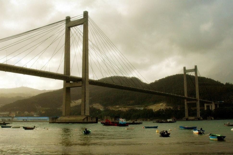 Rande's Bridge, Ría de Vigo, Galicia, Spain