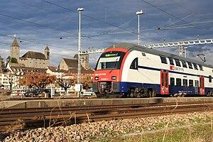 Rapperswil - Bahnhof - Schloss IMG 2902