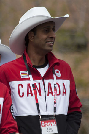 Ravi Walia - Walia at the 2014 Parade of Champions in Calgary