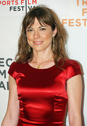 Rebecca Pidgeon - Pidgeon at the premiere of Redbelt, April 2008