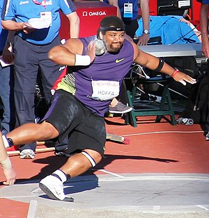 Reese Hoffa - Hoffa in action at the 2010 Bislett Games