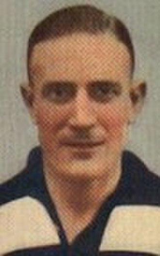 1937 VFL season - Geelong captain-coach Reg Hickey
