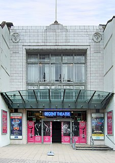 Regent Theatre, Stoke-on-Trent theatre and former cinema in Stoke-on-Trent, England