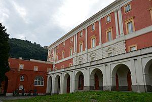 Reggia di Quisisana - Facade of one of the structures