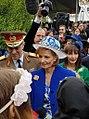 Regina Margareta si monarhistii.jpg