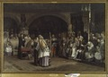 Religious Discourse between Olaus Petri and Peder Galle (Carl Gustaf Hellqvist) - Nationalmuseum - 18385.tif